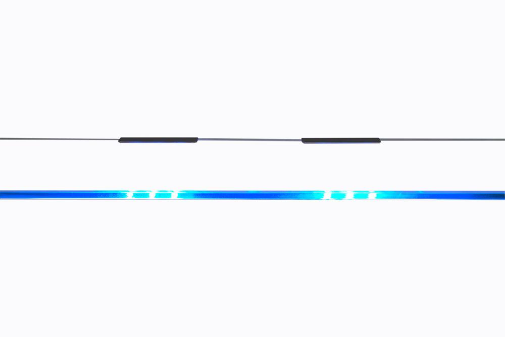 led cabinet leuchten 3er blau h lscher leuchten. Black Bedroom Furniture Sets. Home Design Ideas